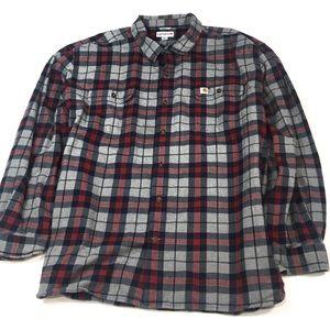 BF431 Carhartt Orig Fit Heavy Flannel Shirt 4XL